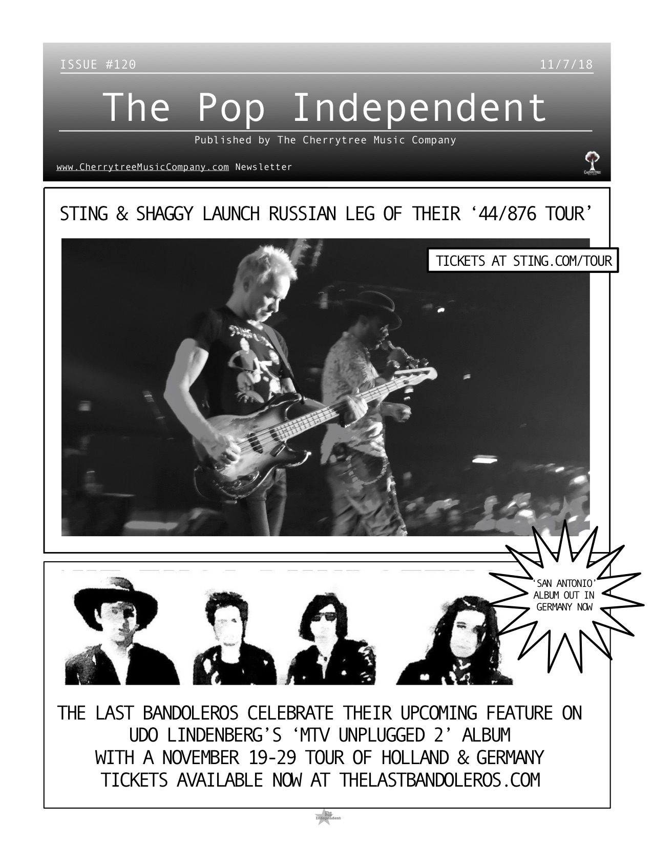 The Pop Independent, issue 120