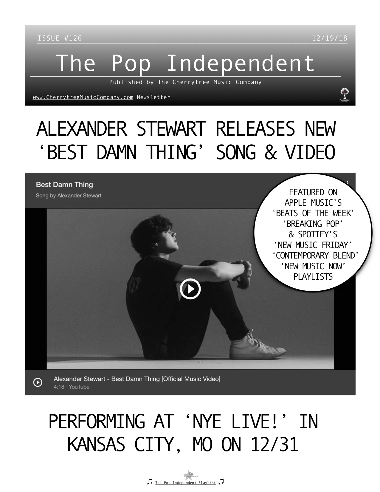 The Pop Independent, issue 126