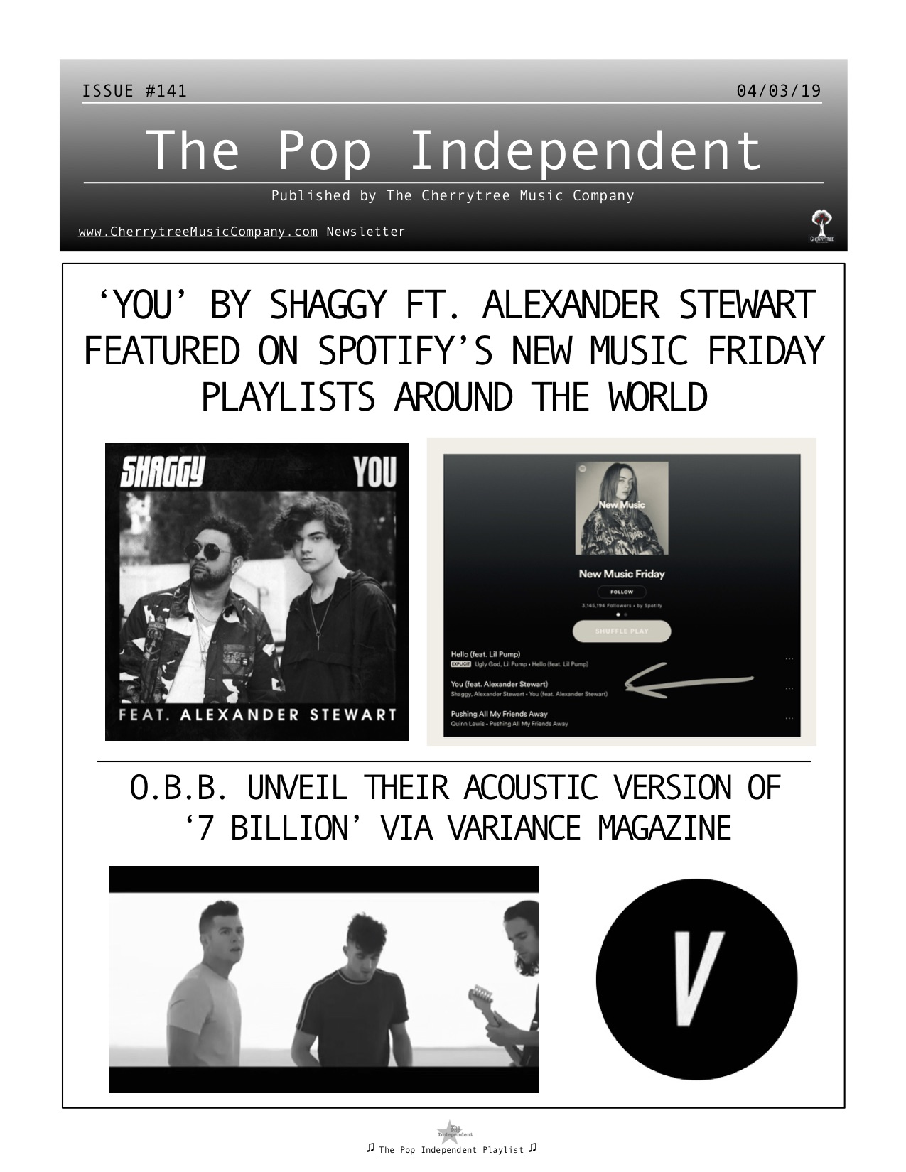 The Pop Independent, issue 141