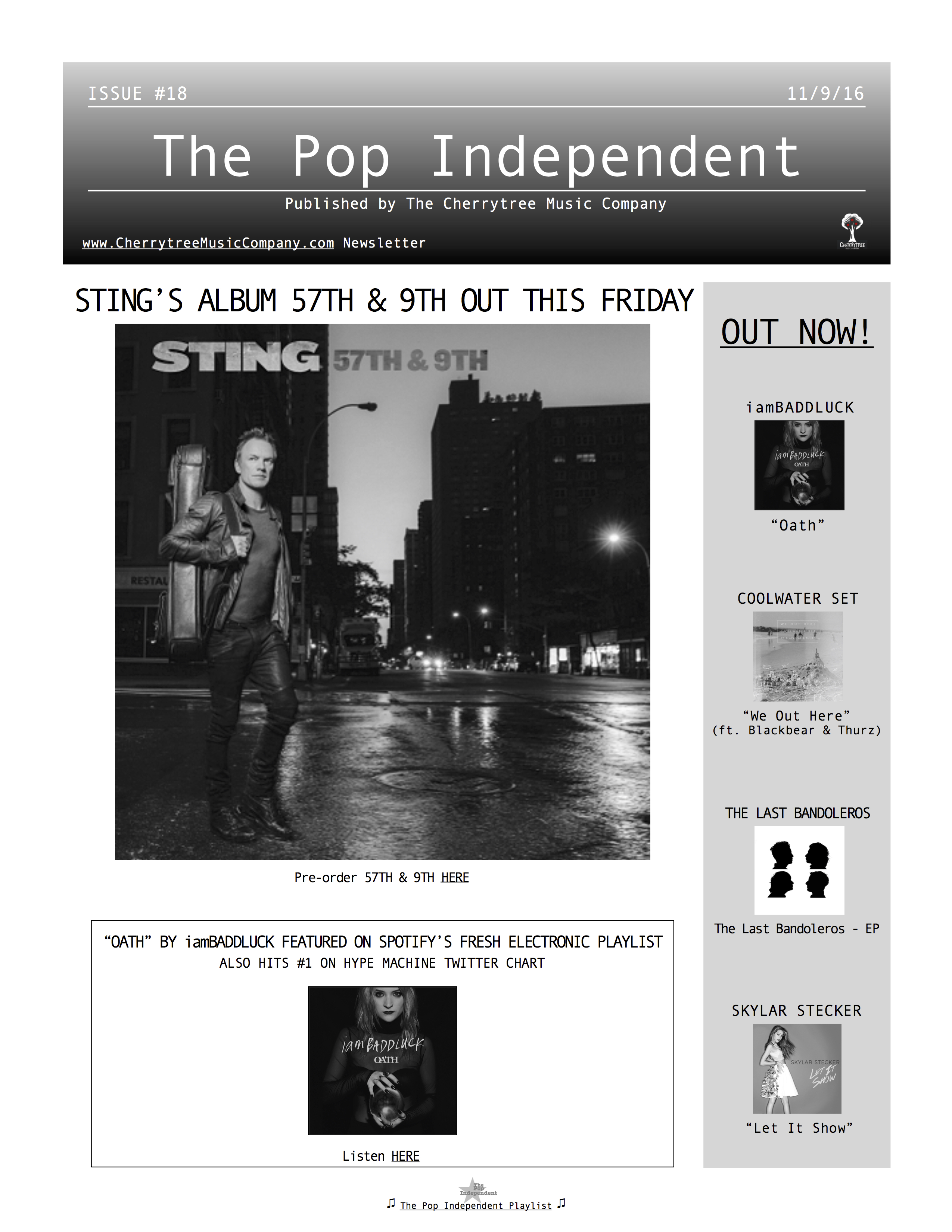 The Pop Independent, issue 18