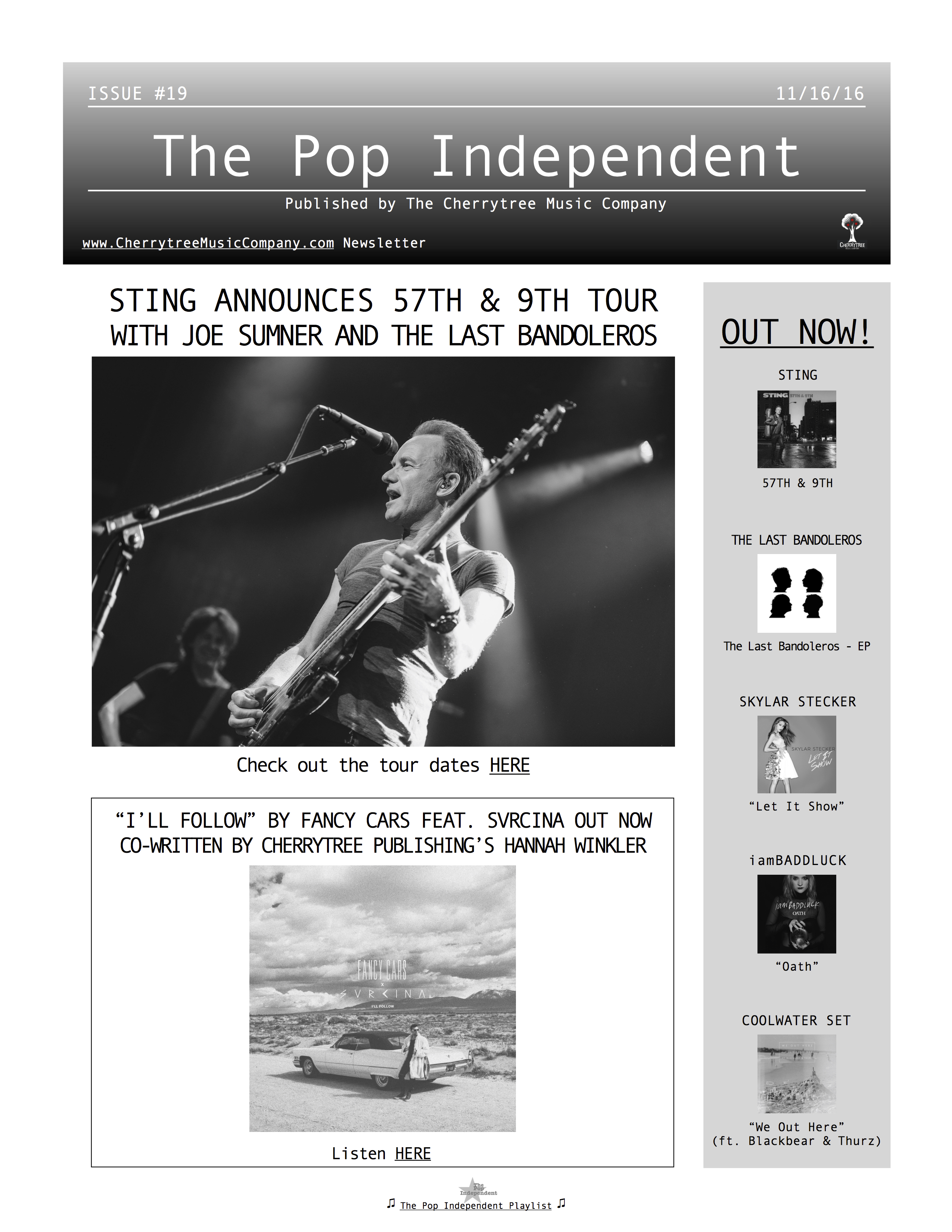 The Pop Independent, issue 19