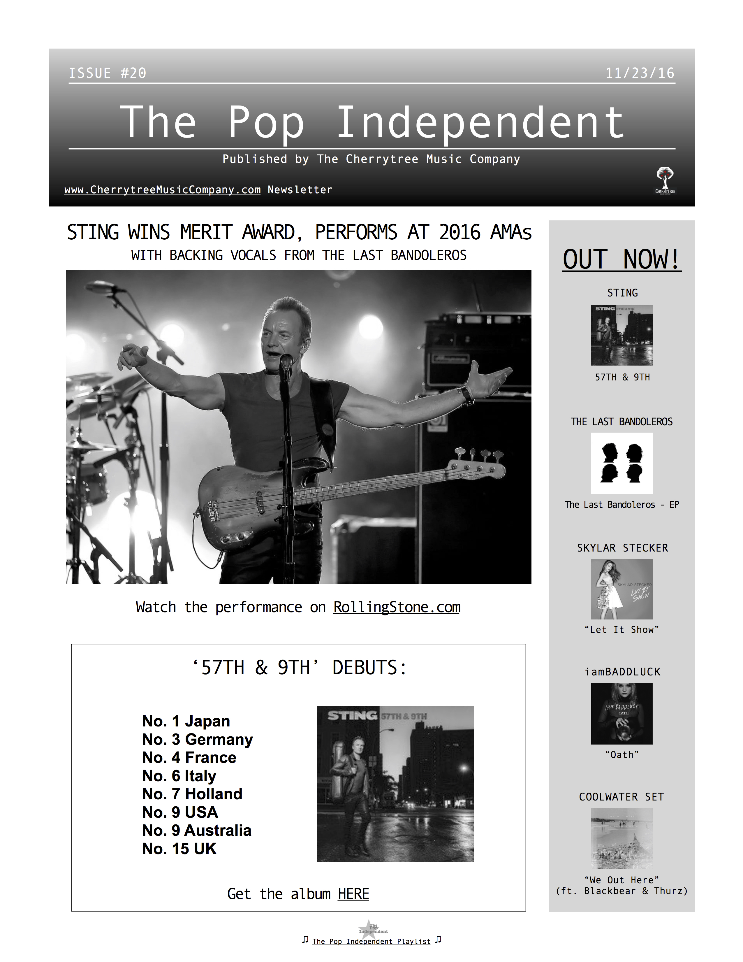 The Pop Independent, issue 20