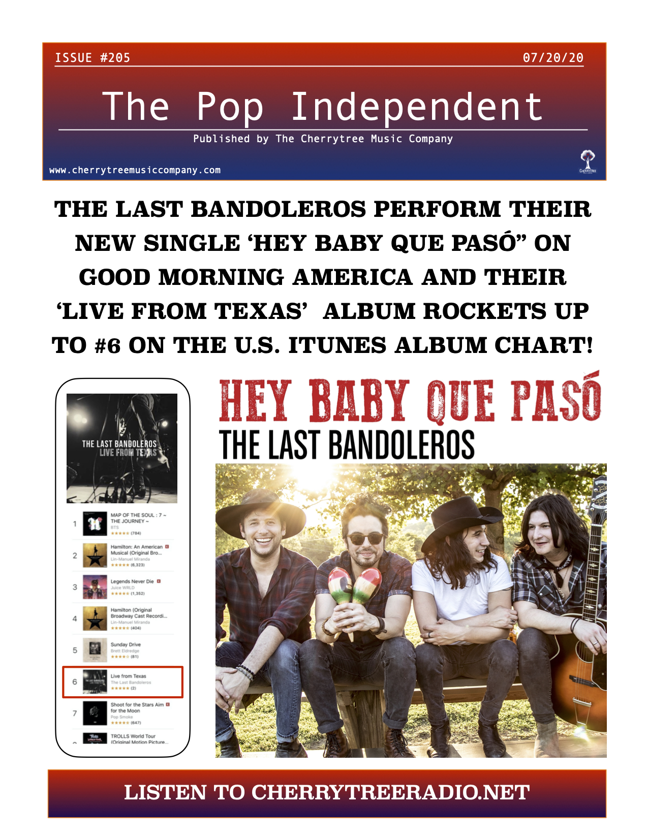 The Pop Independent, Issue 205