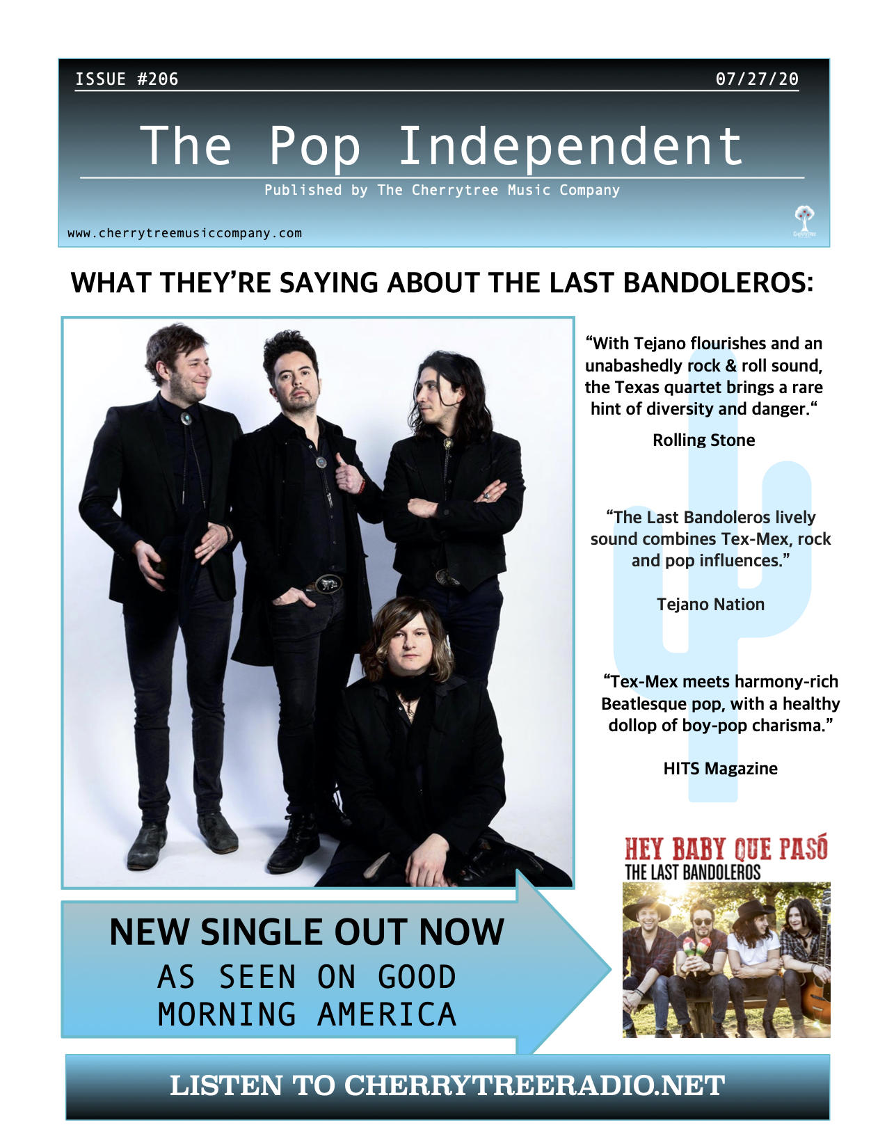 The Pop Independent, Issue 206