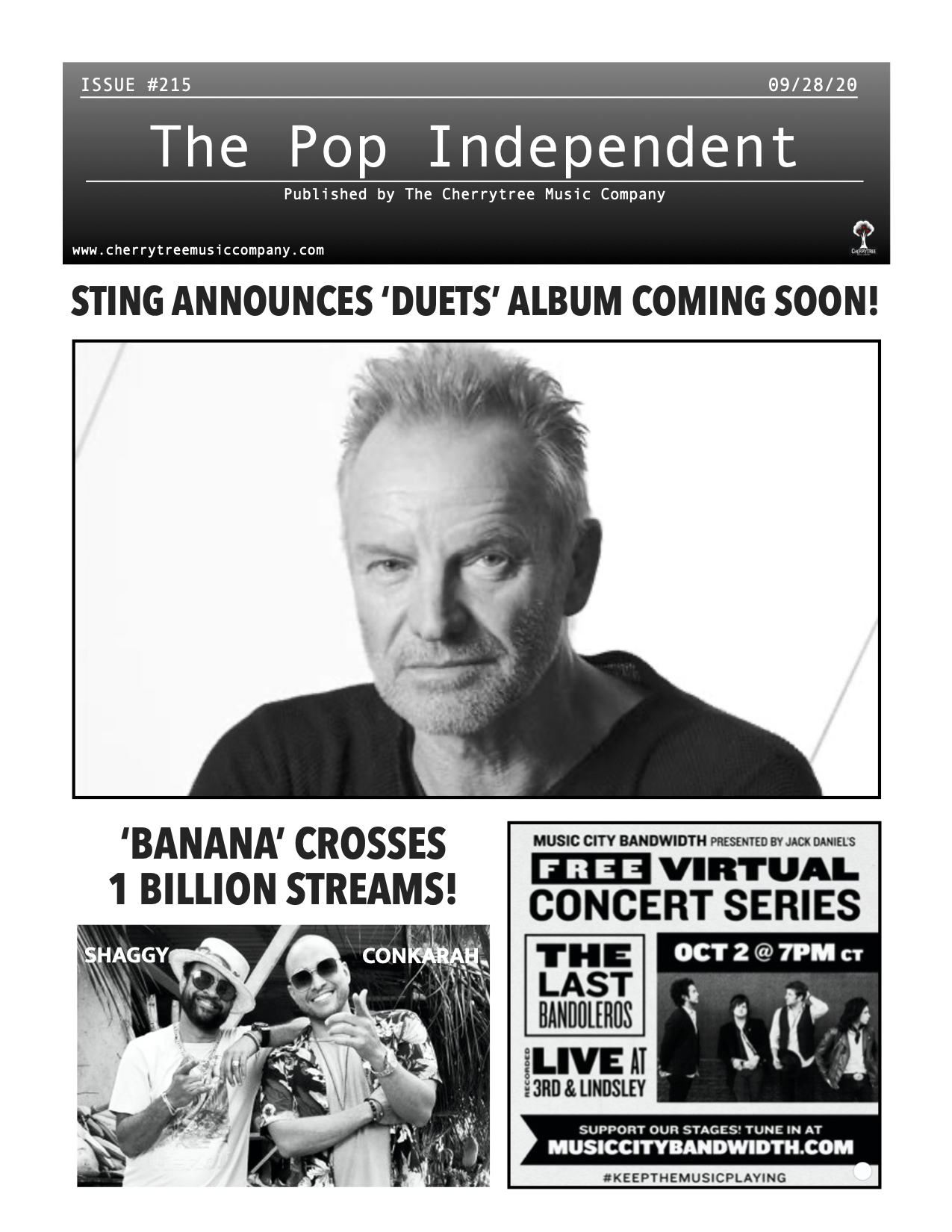 The Pop Independent, Issue 215