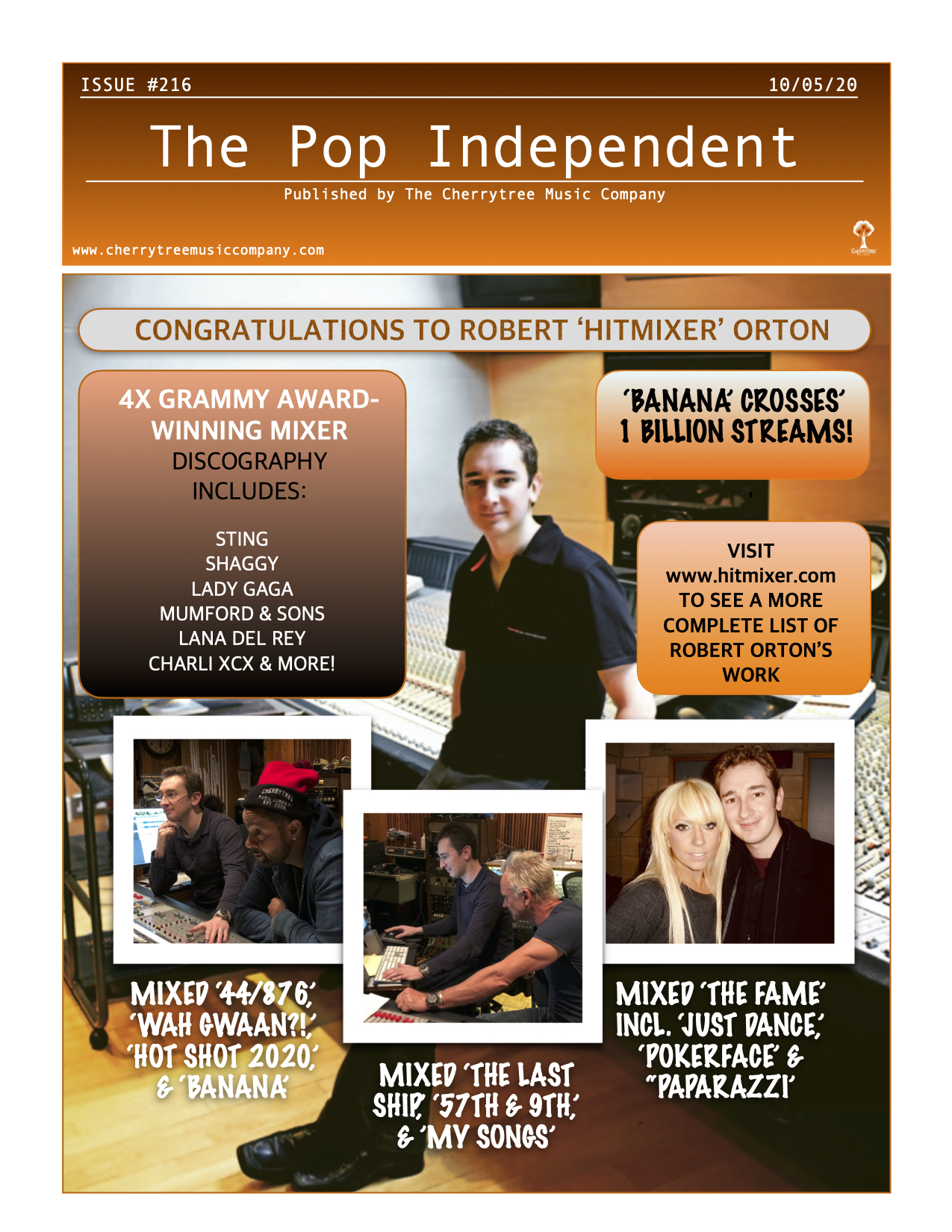 The Pop Independent, Issue 216