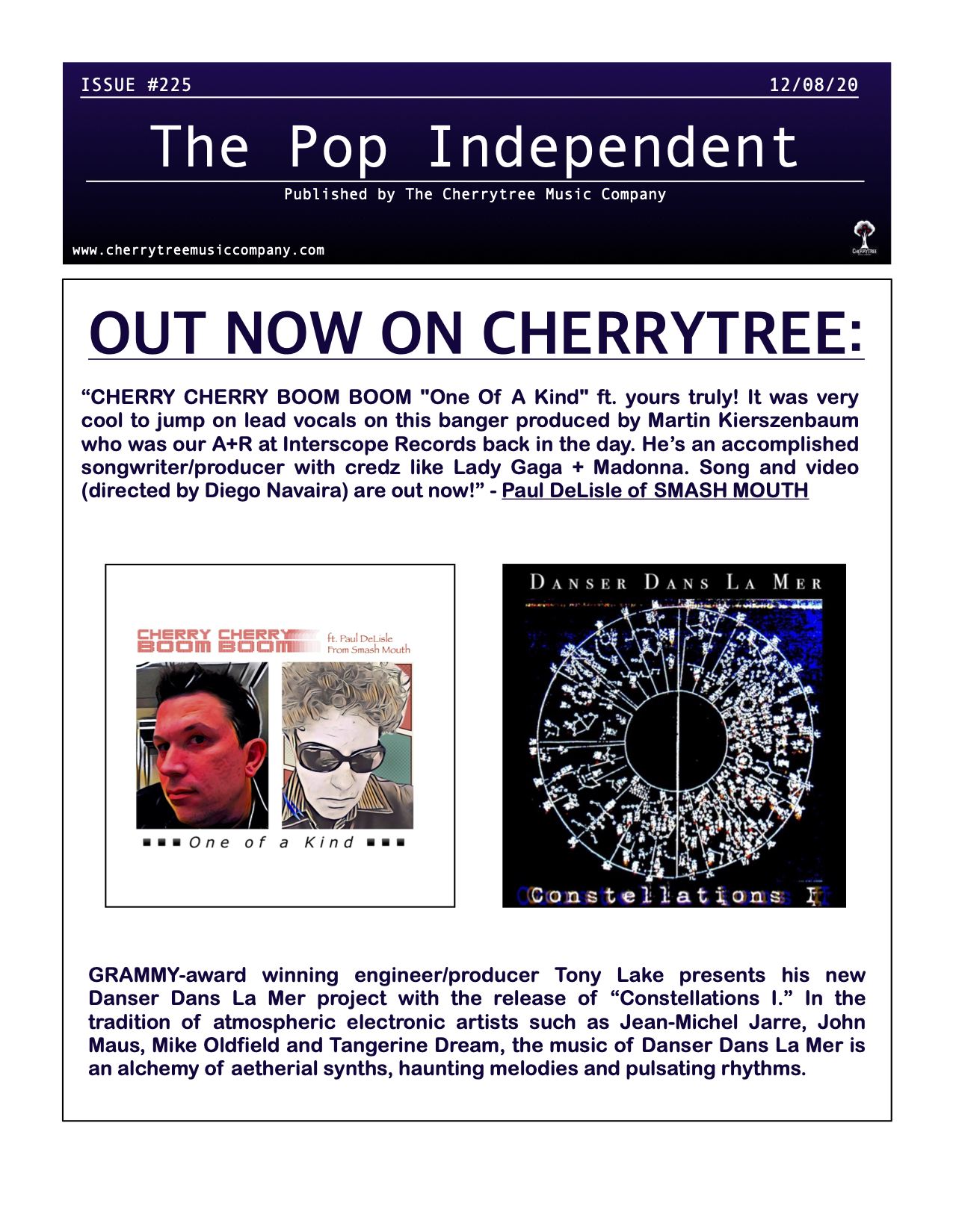 The Pop Independent, Issue 225