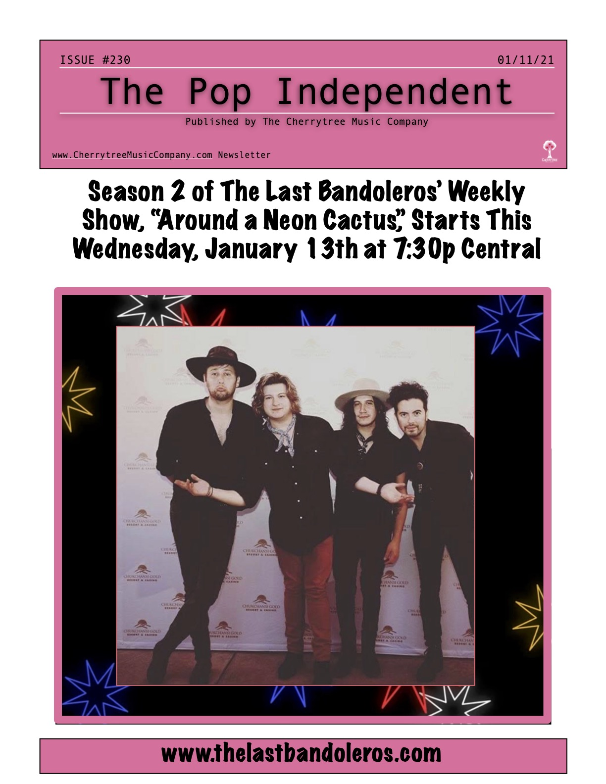 The Pop Independent, Issue 230