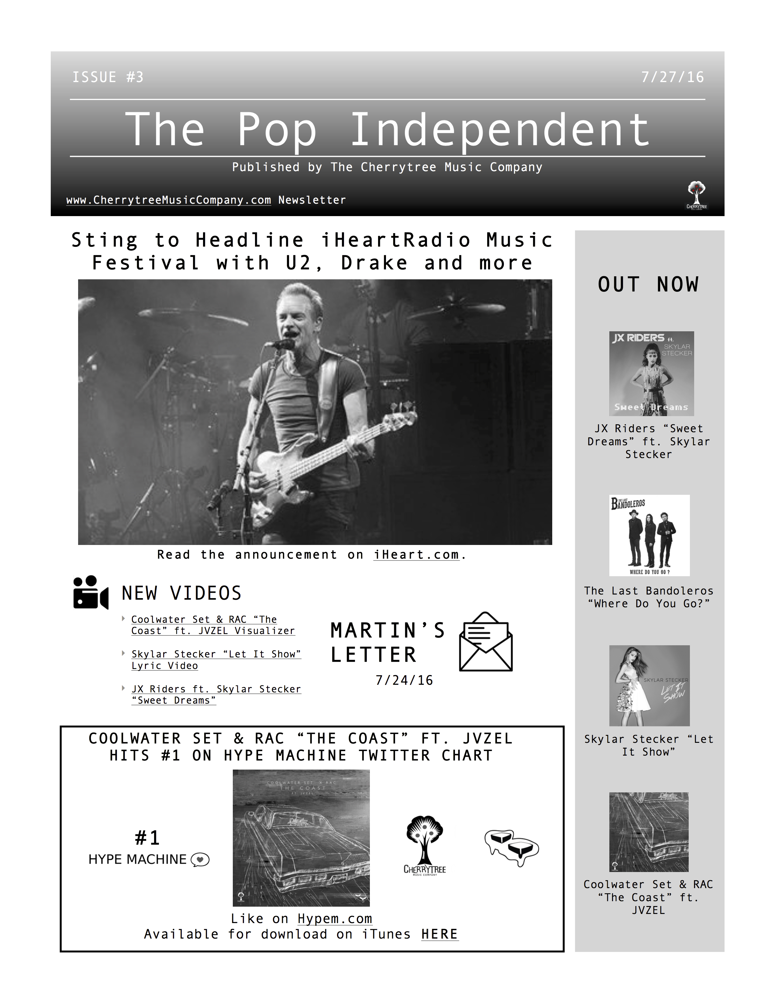 The Pop Independent, issue 3