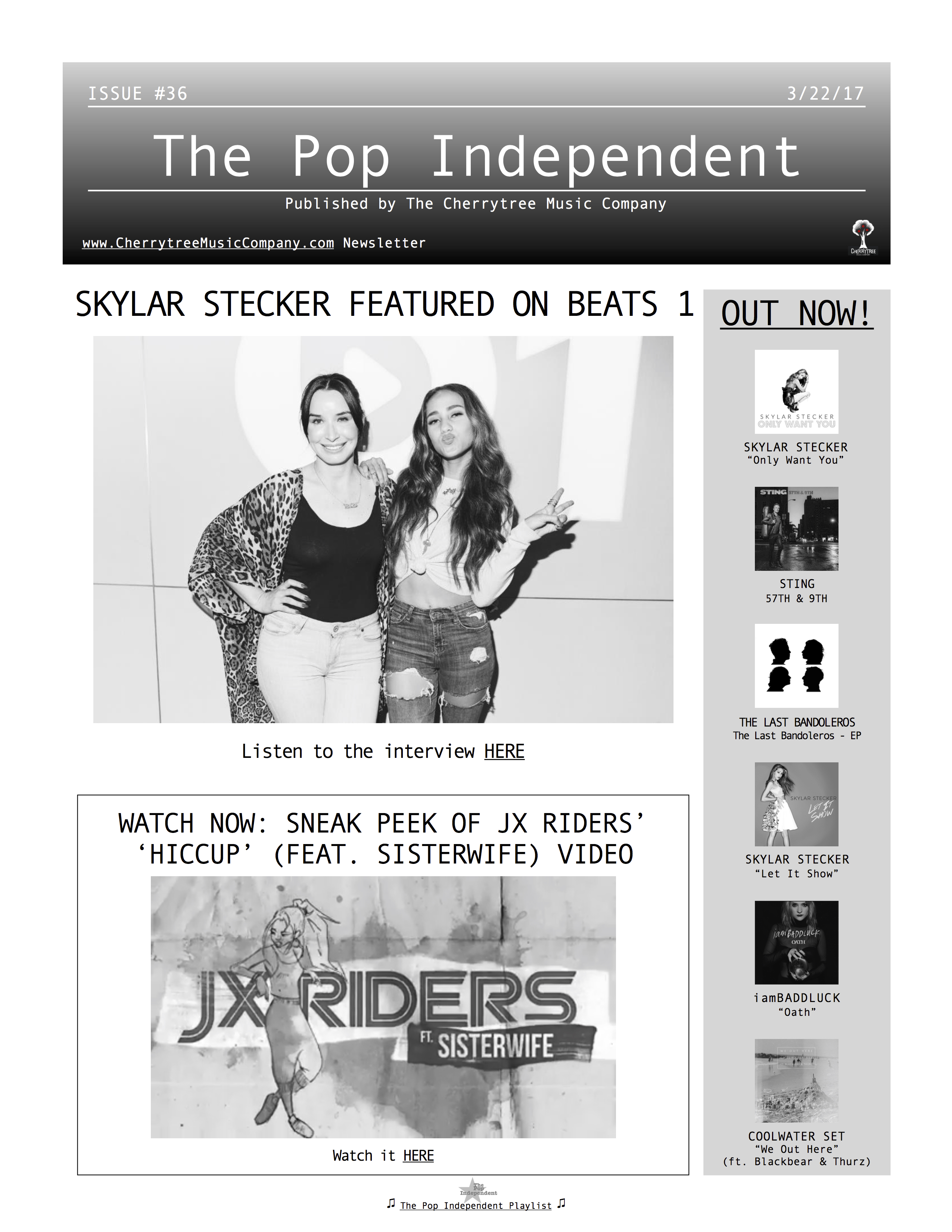 The Pop Independent, issue 36