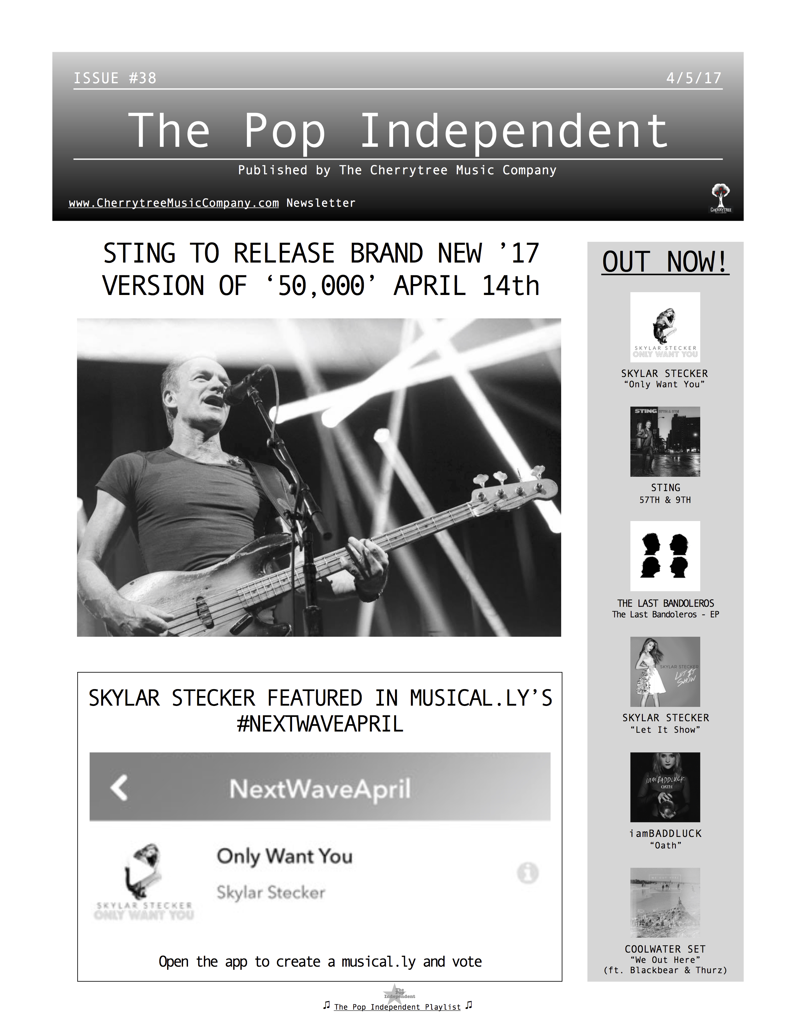 The Pop Independent, issue 38