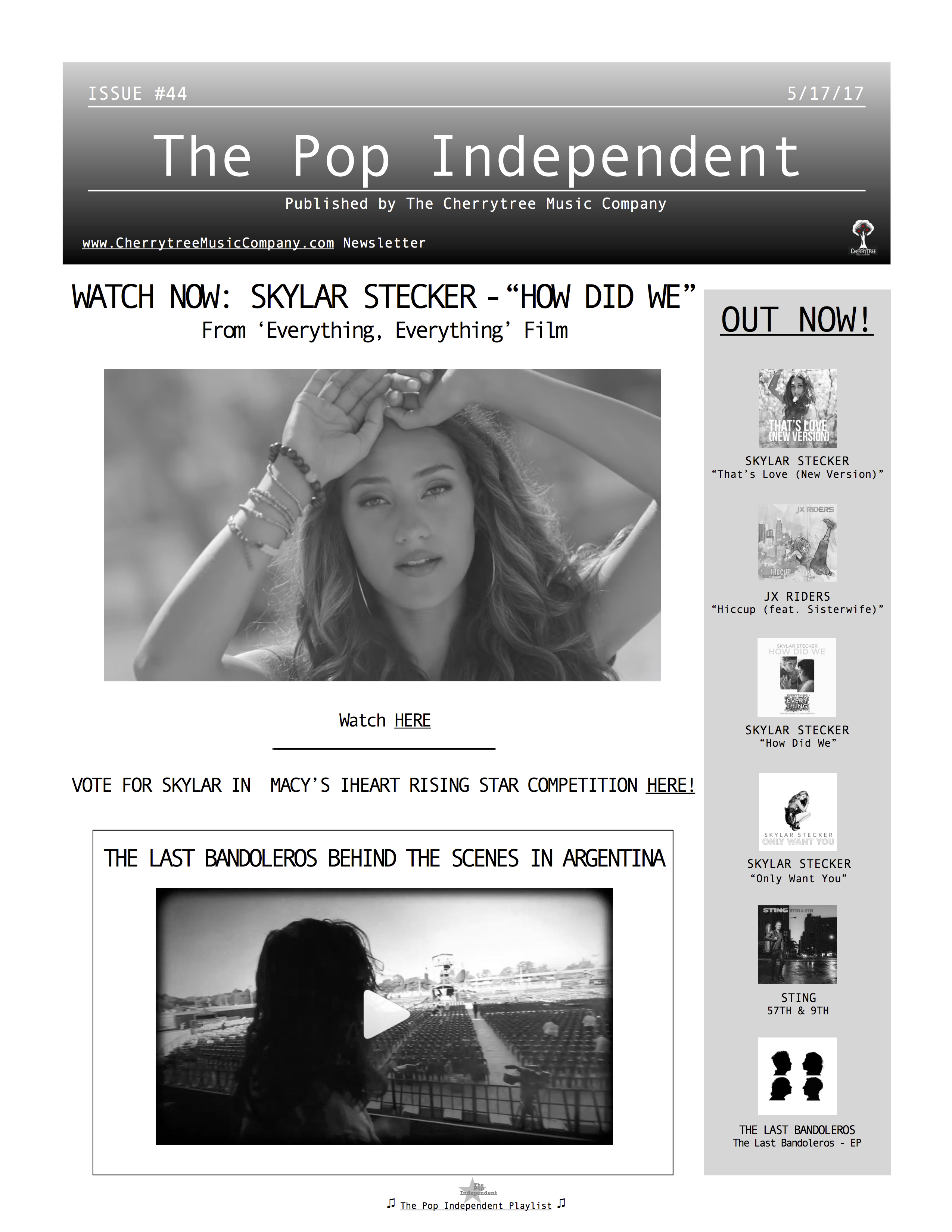 The Pop Independent, issue 44