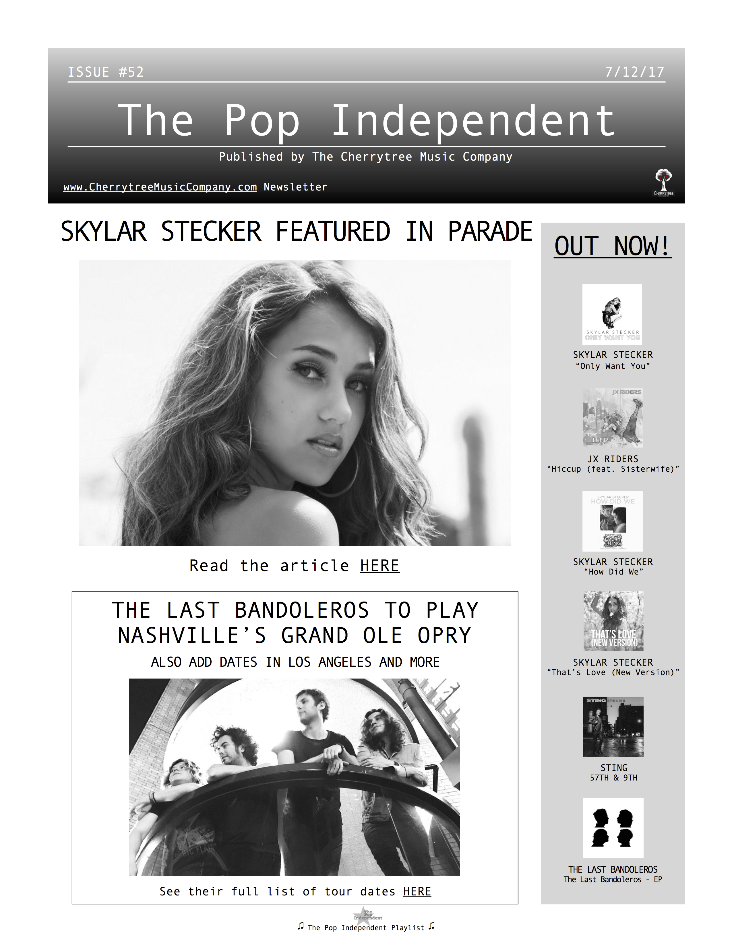 The Pop Independent, issue 52