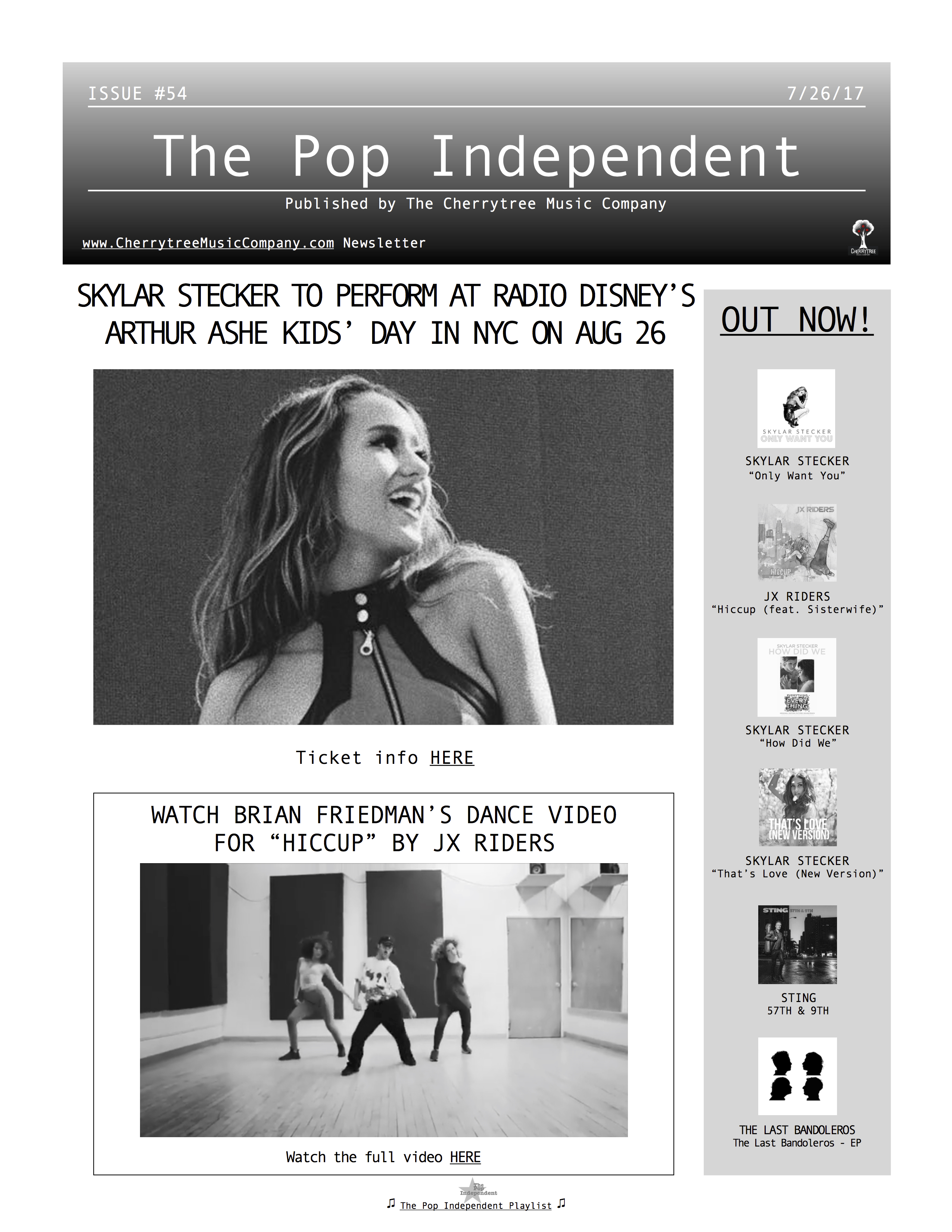 The Pop Independent, issue 54