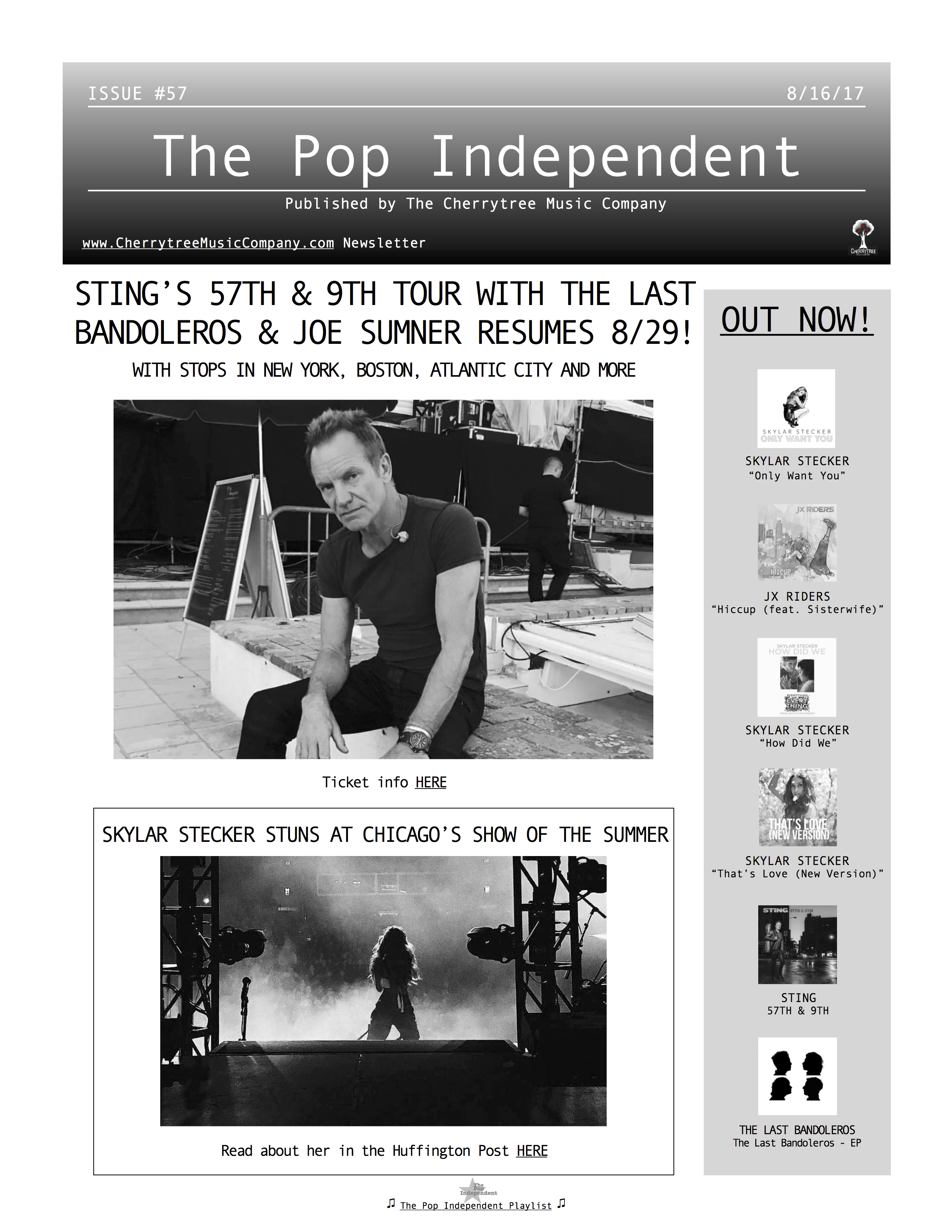 The Pop Independent, issue 57
