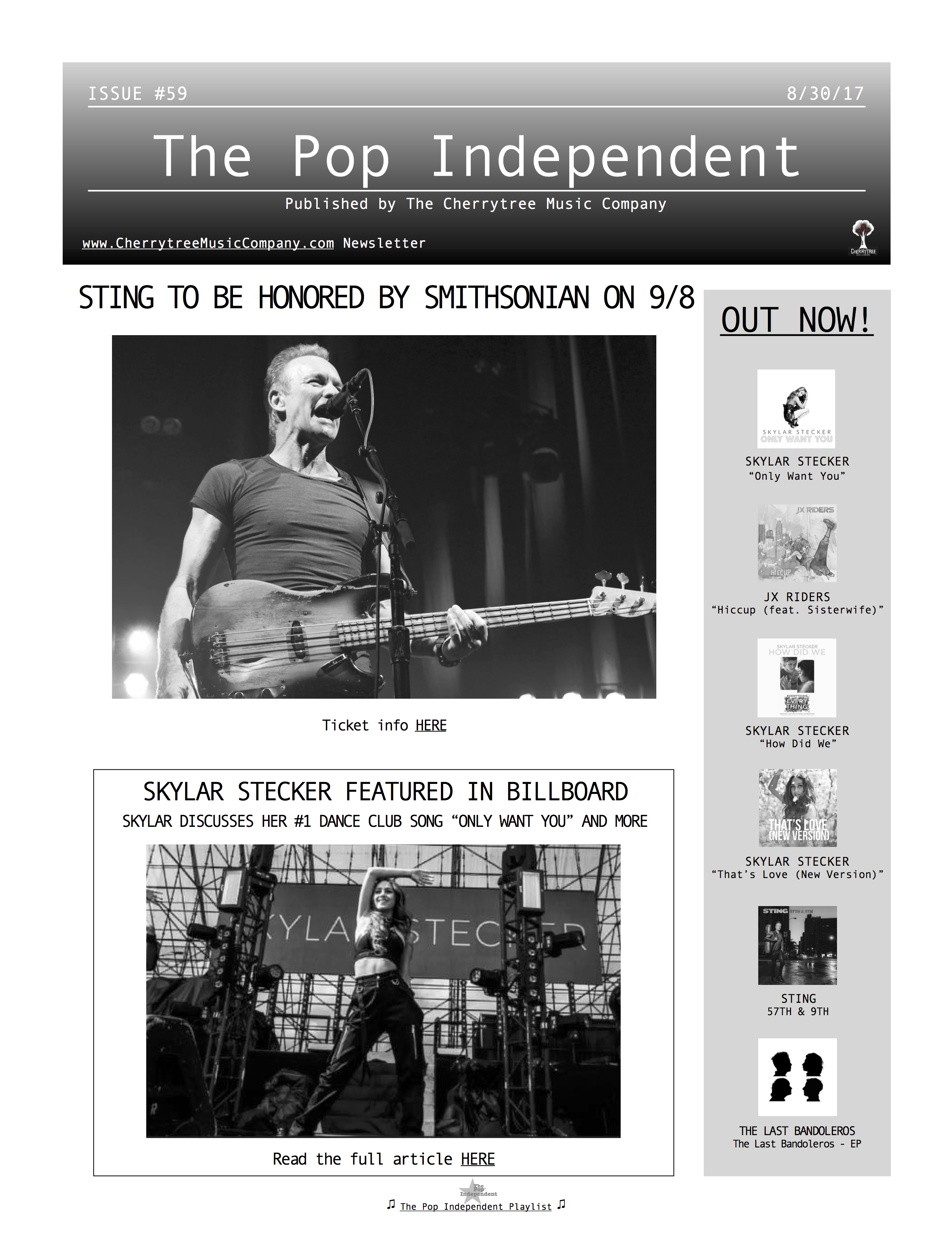 The Pop Independent, issue 59