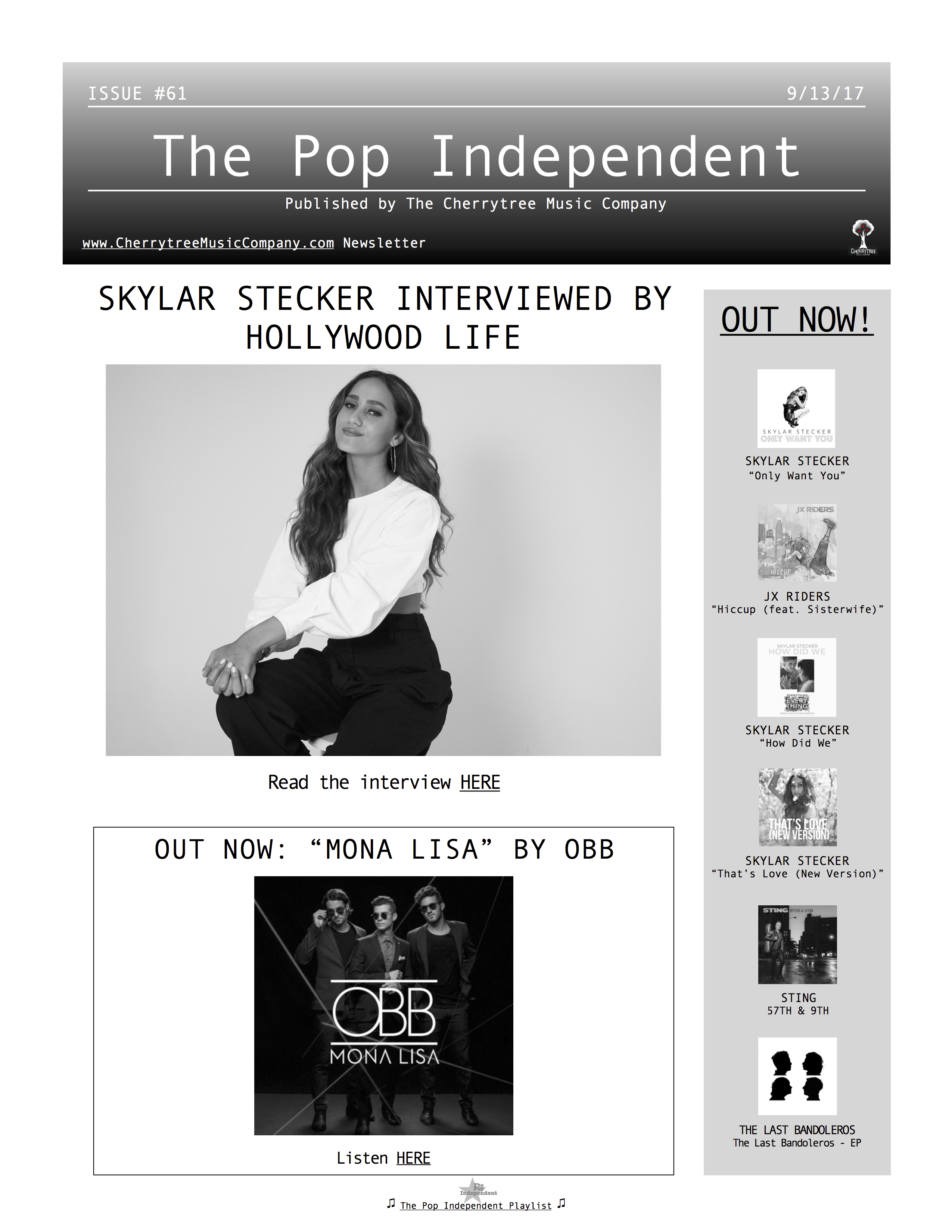 The Pop Independent, issue 61