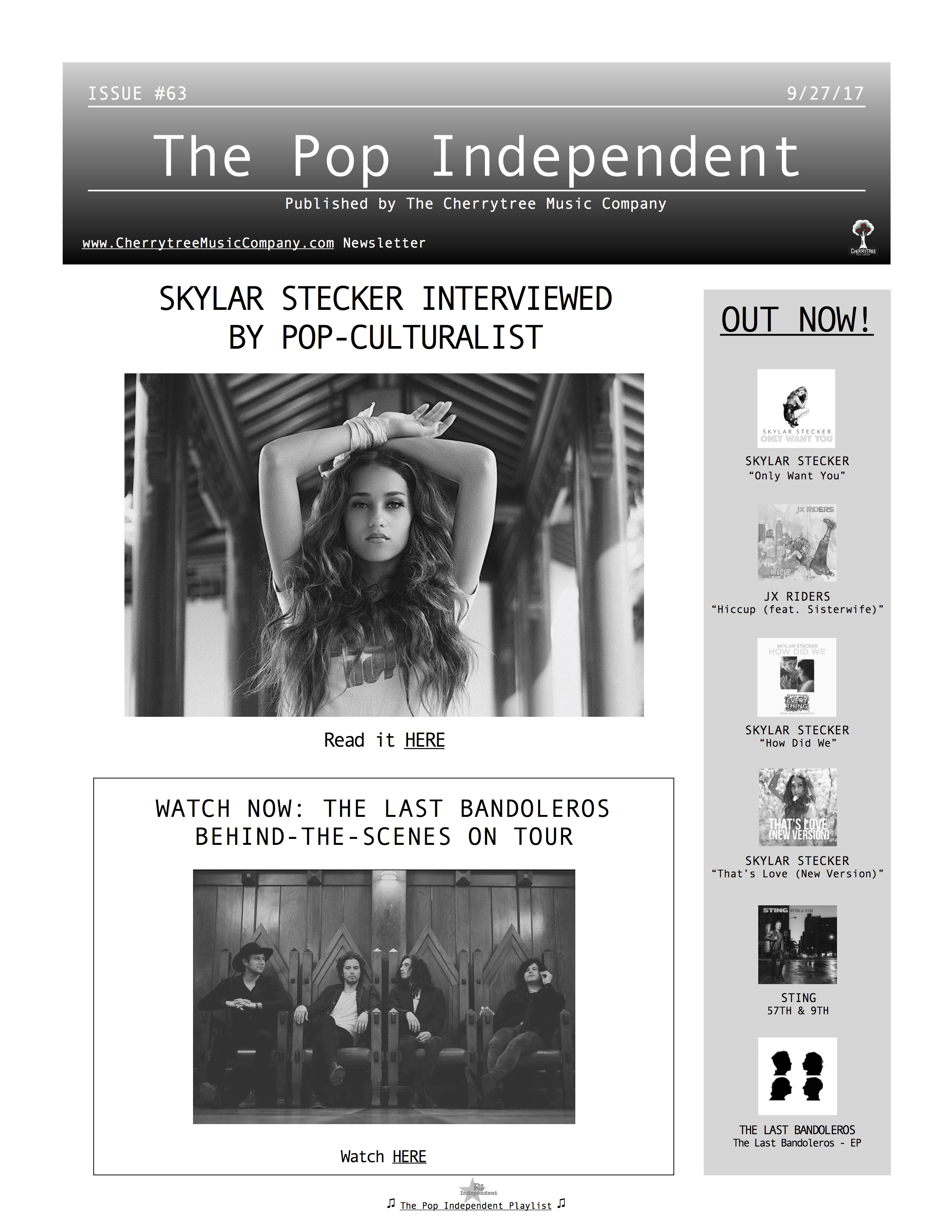 The Pop Independent, issue 63