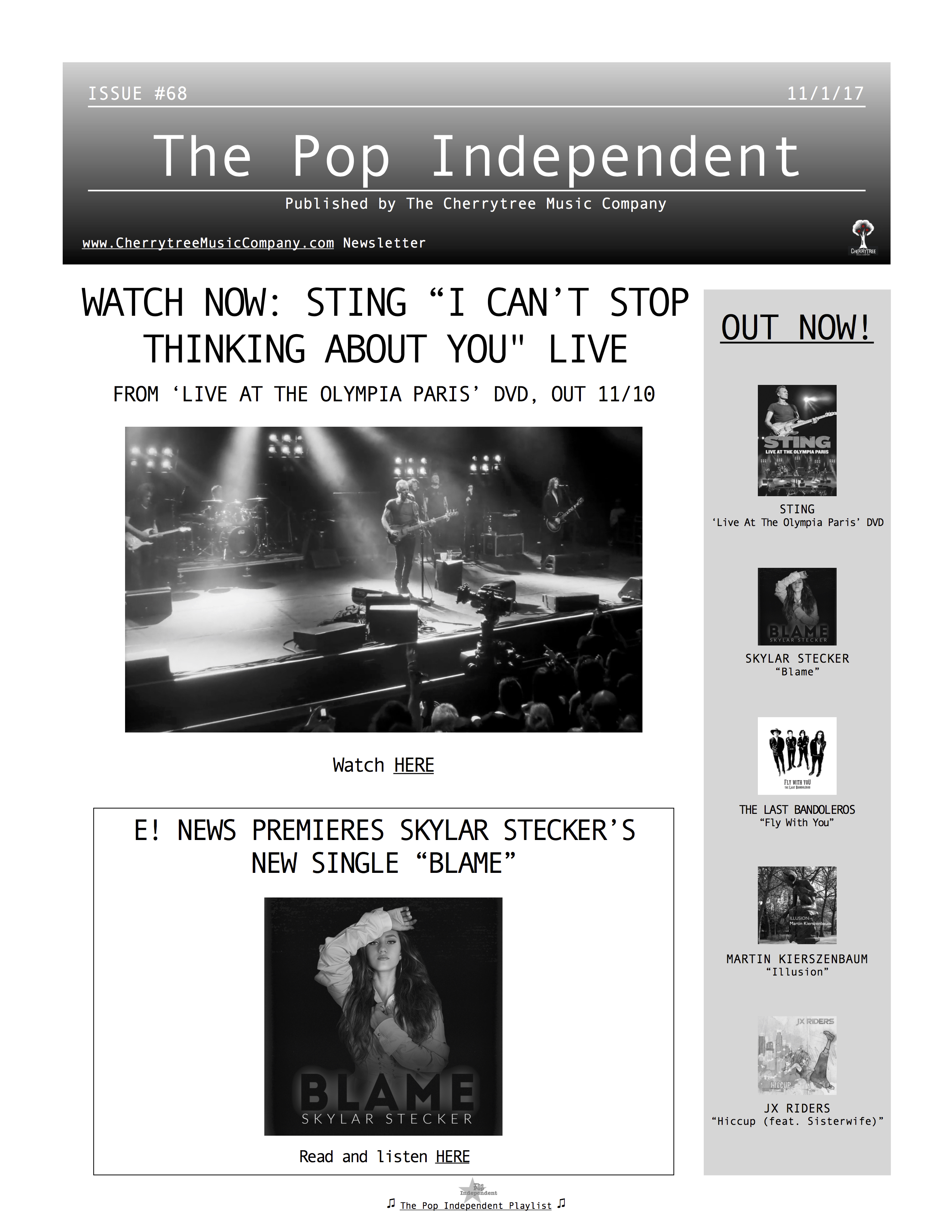 The Pop Independent, issue 68