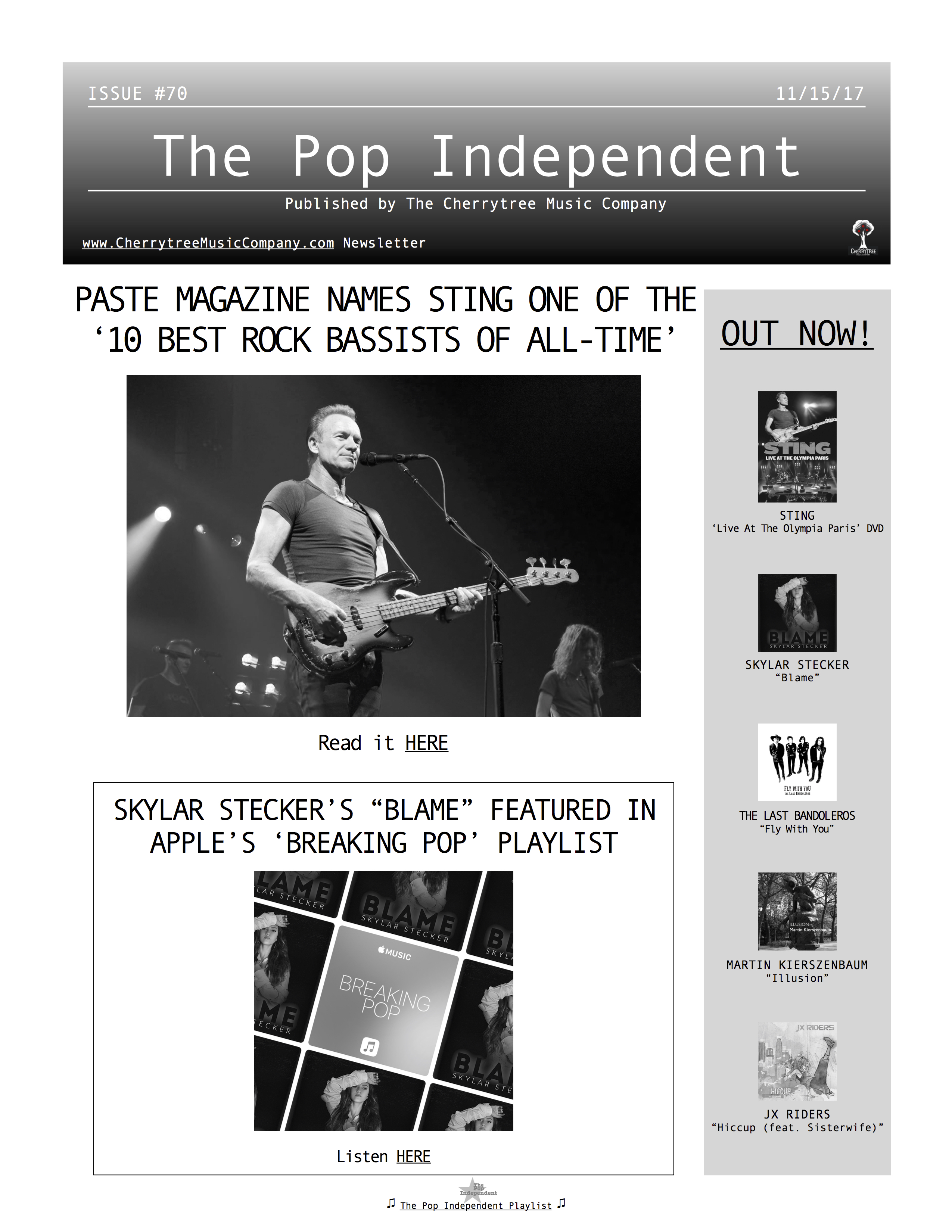 The Pop Independent, issue 70