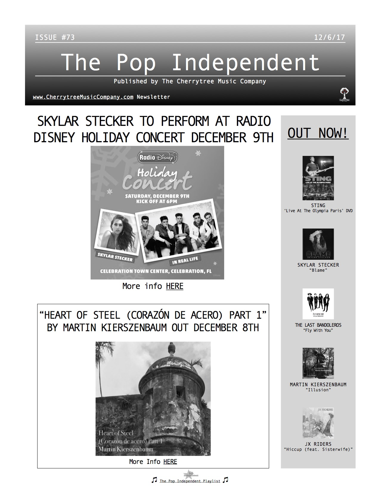 The Pop Independent, issue 73