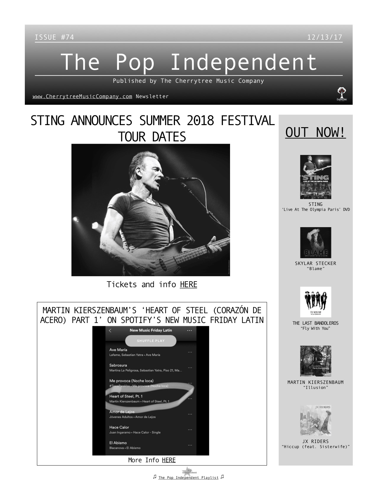The Pop Independent, issue 74