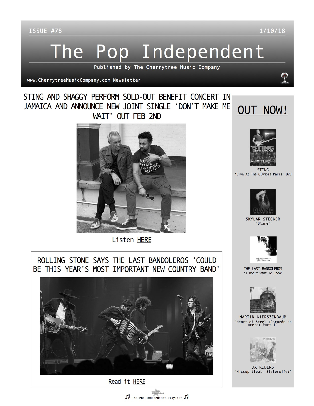 The Pop Independent, issue 78