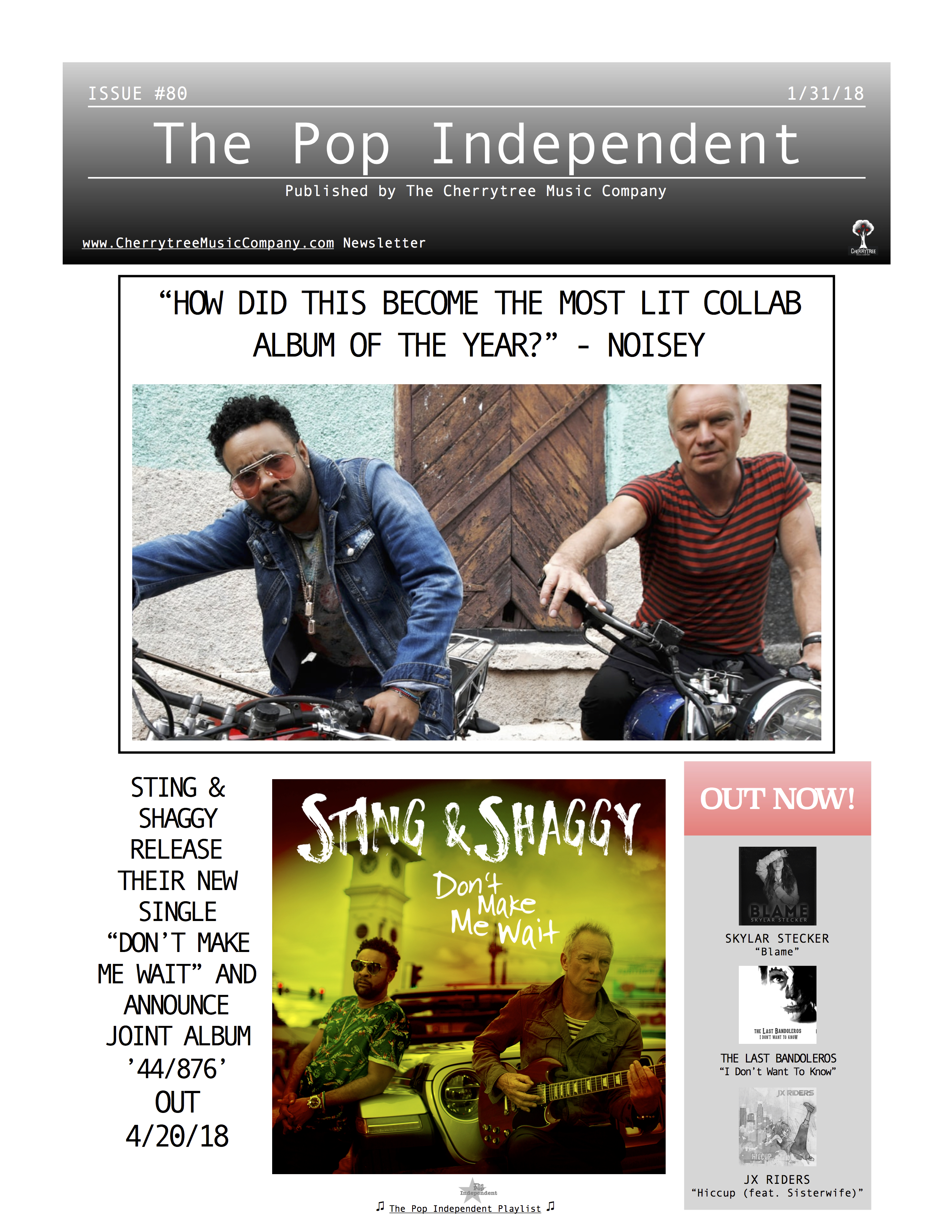 The Pop Independent, issue 80