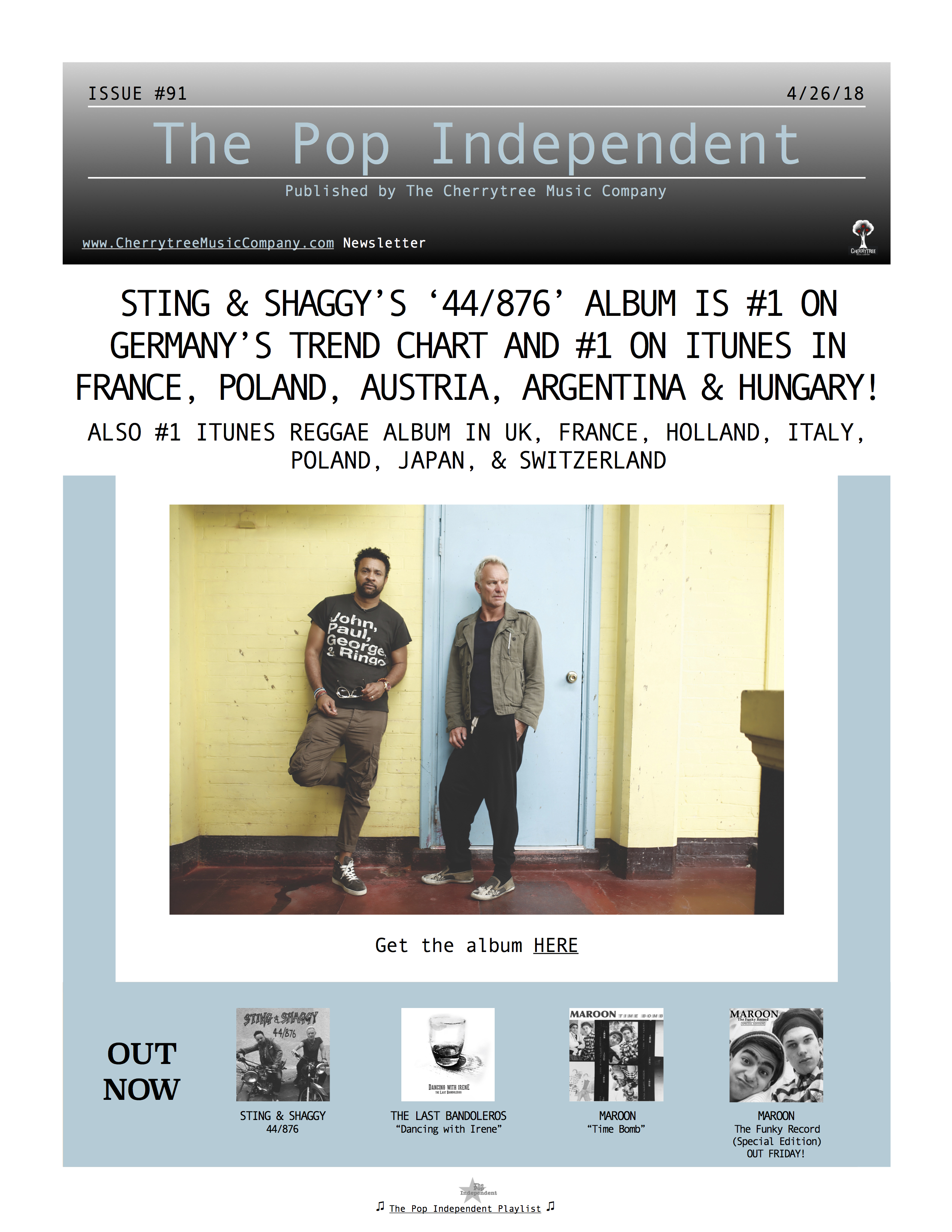 The Pop Independent, issue 91