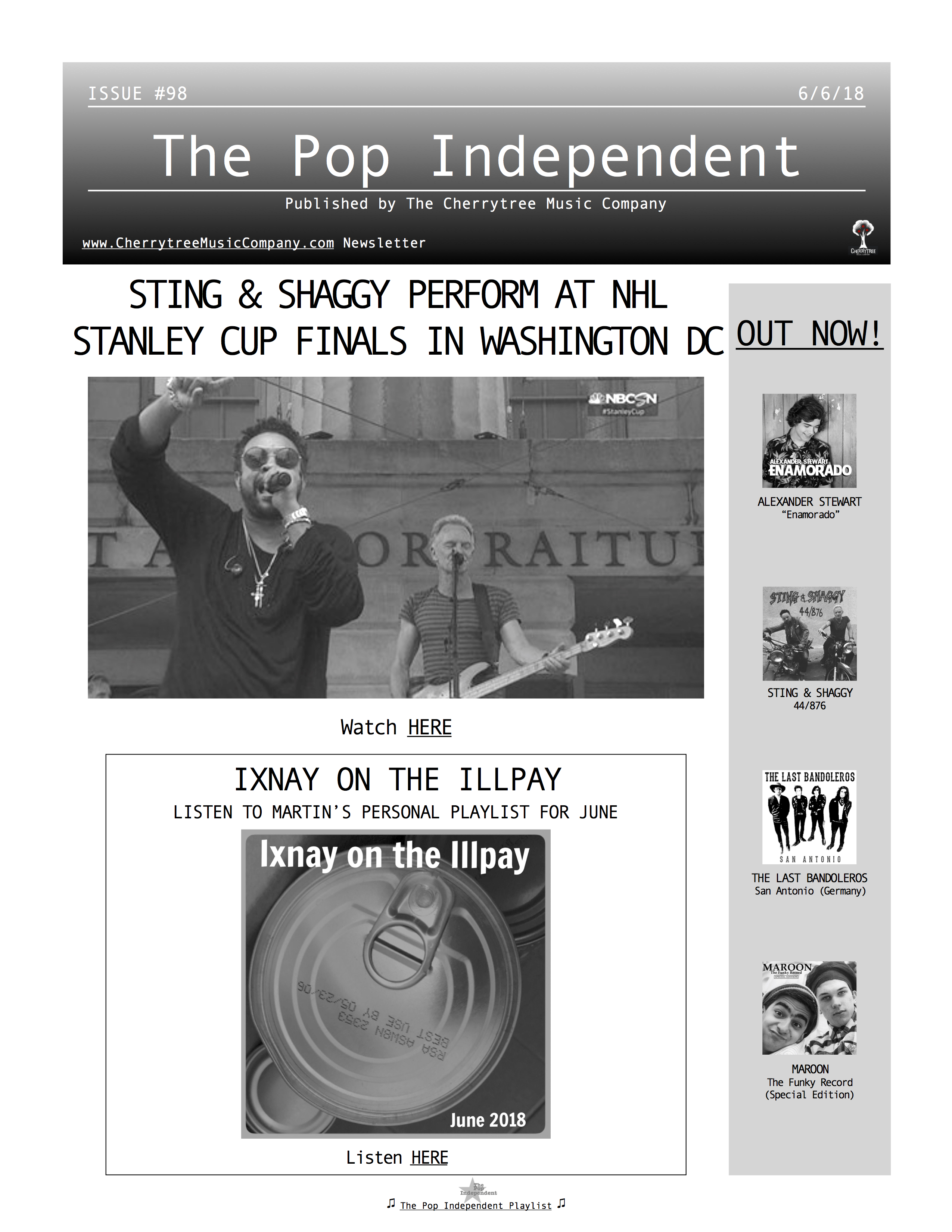The Pop Independent, issue 98
